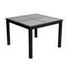 allen + roth Carrinbridge 42-in W x 42-in L Square Aluminum Dining Table
