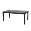 allen + roth Carrinbridge 71-in W x 40-in L Rectangle Aluminum Dining Table