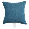 Sunbrella 2-Pack Deep Sea Stripe Square Throw Outdoor Decorative Pillow