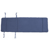 Navy Solid Cushion for Chaise Lounge