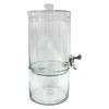 allen + roth 2-Gallon Clear Glass Beverage Dispenser