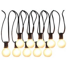 allen + roth 12-ft Clear Edison Bulb Patio String Lights