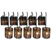 allen + roth 7.8-ft Brown/Tan Mini Bulb Rattan Patio String Lights