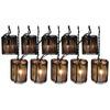 allen + roth 7.8-ft Brown/Tan Mini Bulb Rattan Patio String Lights