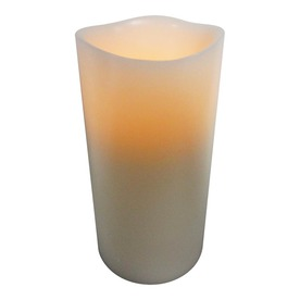 allen + roth 6-in Cordless Electric Pillar Candle with Timer