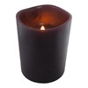 allen + roth 4-in Cordless Electric Pillar Candle with Timer