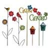Garden Treasures 36-in Multicolor Metal Stake