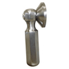 River's Edge Brushed Nickel Brass Trip Lever