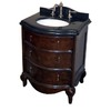 allen + roth 29-in Java Ellerton Single Sink Bathroom Vanity with Top