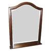 allen + roth 24-in W x 30-in H Java Arch Bathroom Mirror