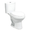 River's Edge Paris White 1.6; 1.0-GPF 12-in Rough-in Elongated Dual-Flush 2-Piece Comfort Height Toilet