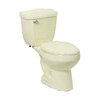 River's Edge Hillbrook Biscuit 1.6; 1.0-GPF (6.06; 3.79-LPF) 12-in Rough-in Elongated 2-Piece Comfort Height Toilet