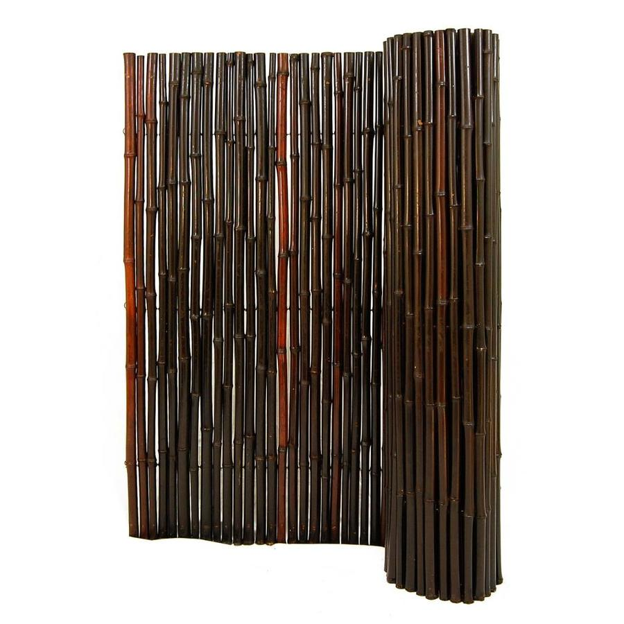 Shop backyard x scapes 1 in dia x 6 ft h x 8 ft l mahogany for 8 foot high outdoor privacy screen
