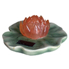smartpond Water Garden Pink Solar Lilly Pond Light