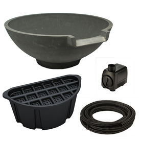 Shop smartpond aquatic garden pondless waterfall kit at Lowes pond filter