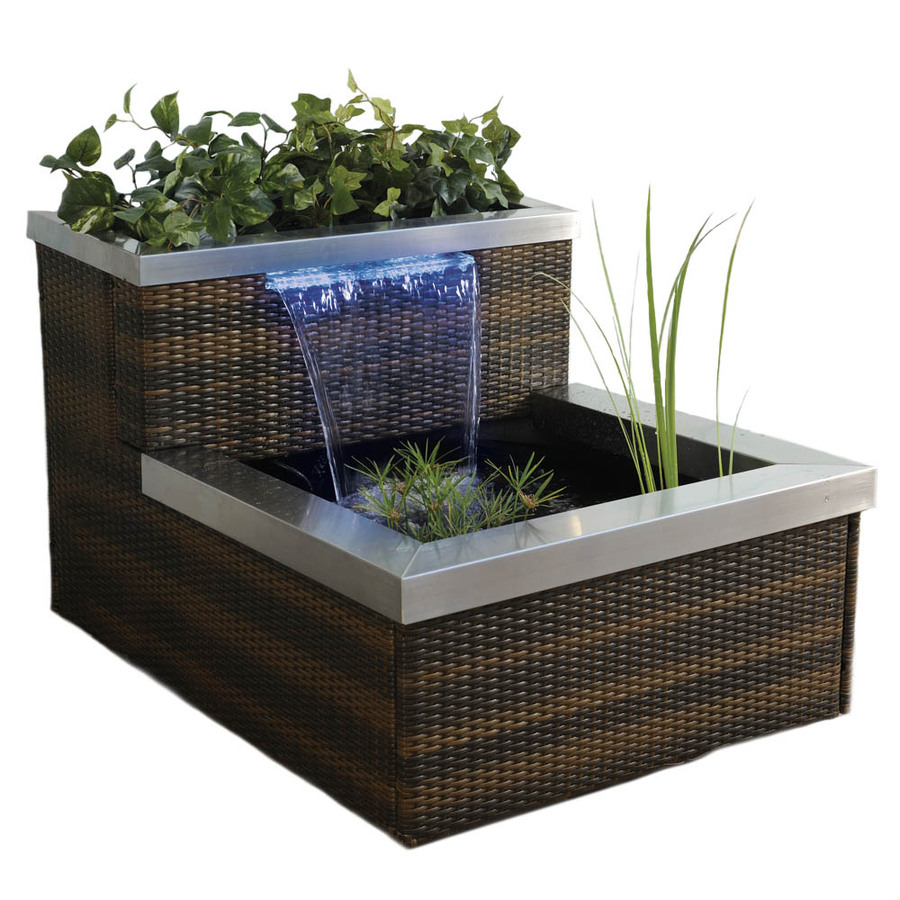 Shop smartpond pond kit at for Pond waterfall kit