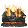 Pleasant Hearth 24-in 55000-BTU Pan Vented Gas Fireplace Logs