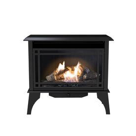 shop pleasant hearth 1000 sq ft dual burner vent free