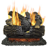 Pleasant Hearth 18-in 45,000-BTU Dual Vented Gas Fireplace Logs
