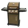 Dyna-Glo Bronze Metallic 3-Burner (12,000-BTU) Liquid Propane Gas Grill
