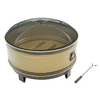 Pleasant Hearth 35.91-in W Brushed Copper Steel Wood-Burning Fire Pit