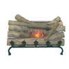 Pleasant Hearth 20-in Brown Electric Fireplace Insert