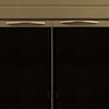 Pleasant Hearth Ashlynn Antique Brass Small Cabinet-Style Fireplace Doors with Clear Tempered Glass