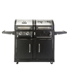 Dyna-Glo Dynaglo Stainless Steel and Black 2-Burner (24,000-BTU) Liquid Propane Gas Grill