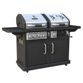 Dyna-Glo Dyna-Glo 1-Burner (54000 BTU) Liquid Propane Gas Grill with Side Burner