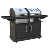 Dyna-Glo Dyna-Glo 1-Burner (54000 BTU) Liquid Propane Gas Grill with Side Burner