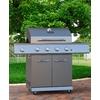 Dyna-Glo DynaGlo 4-Burner (52,000-BTU) Liquid Propane Gas Grill with Side Burner