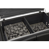 Dyna-Glo 32-in Stainless Steel and Black Barrel Charcoal Grill