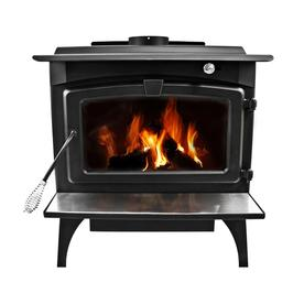 Pleasant Hearth Wood Burning Fireplace Stove With Blower