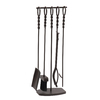 Style Selections 5-Piece Metal Fireplace Tool Set