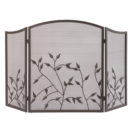 shop style selections botanical style fireplace screen at