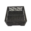 Pleasant Hearth 26-in W Rubbed Bronze Steel Wood-Burning Fire Pit