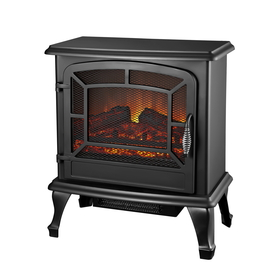 Style Selections 20-in Black Corner Electric Stove