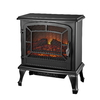 Style Selections 20-in W 4,600-BTU Black Metal Corner or Wall-Mount Electric Stove