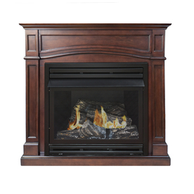 shop pleasant hearth dual burner vent free
