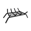 Pleasant Hearth 1/2-in Steel 18-in 4-Bar Fireplace Grate