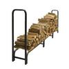 Pleasant Hearth 48-in x 14-in x 11-ft 9-in Steel Heavy Duty Log Rack