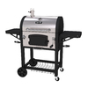 Dyna-Glo 27-in Black and Stainless Steel Barrel Charcoal Grill