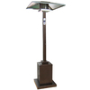 Garden Treasures 38000 BTU Hammered Bronze Steel Liquid Propane Patio Heater