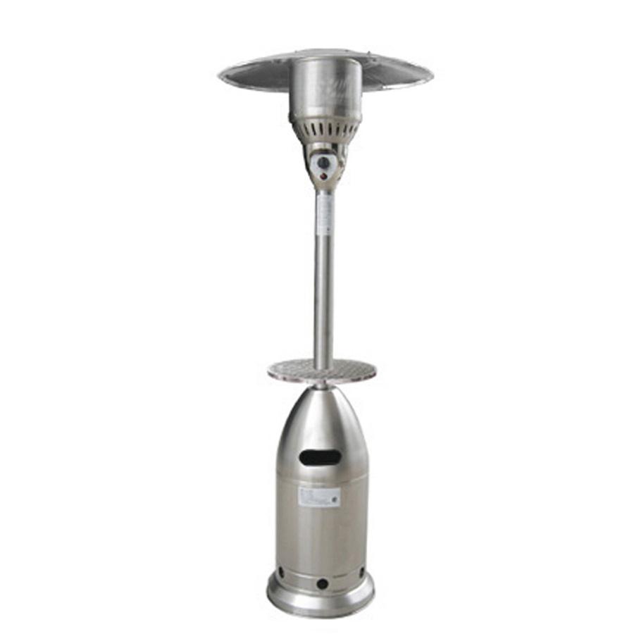 Shop garden treasures 41 000 btu stainless steel liquid - Garden treasures gas patio heater ...