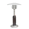 Garden Treasures 11000 BTU Mocha Steel Liquid Propane Patio Heater