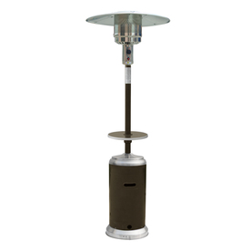 Garden Treasures 41000 BTU Mocha Steel Liquid Propane Patio Heater HSS-DSSPC