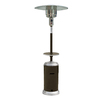 Garden Treasures 41000 BTU Mocha Steel Liquid Propane Patio Heater