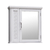 Elegant Home Fashions 19-in White Surface Mount Medicine Cabinet