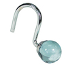 Elegant Home Fashions 12-Pack Globe Light Blue Single Shower Hooks
