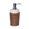 Elegant Home Fashions Brown Lotion Dispenser